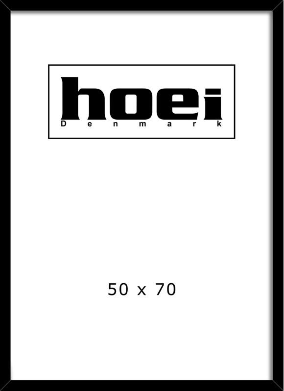 Hoei Denmark - Ramme Plexiglas 50 x 70 cm - Sort