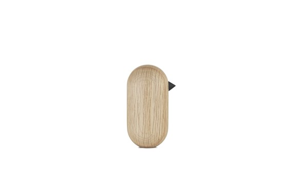 Normann Copenhagen - Little Bird Large 10 cm - Oak (100191)