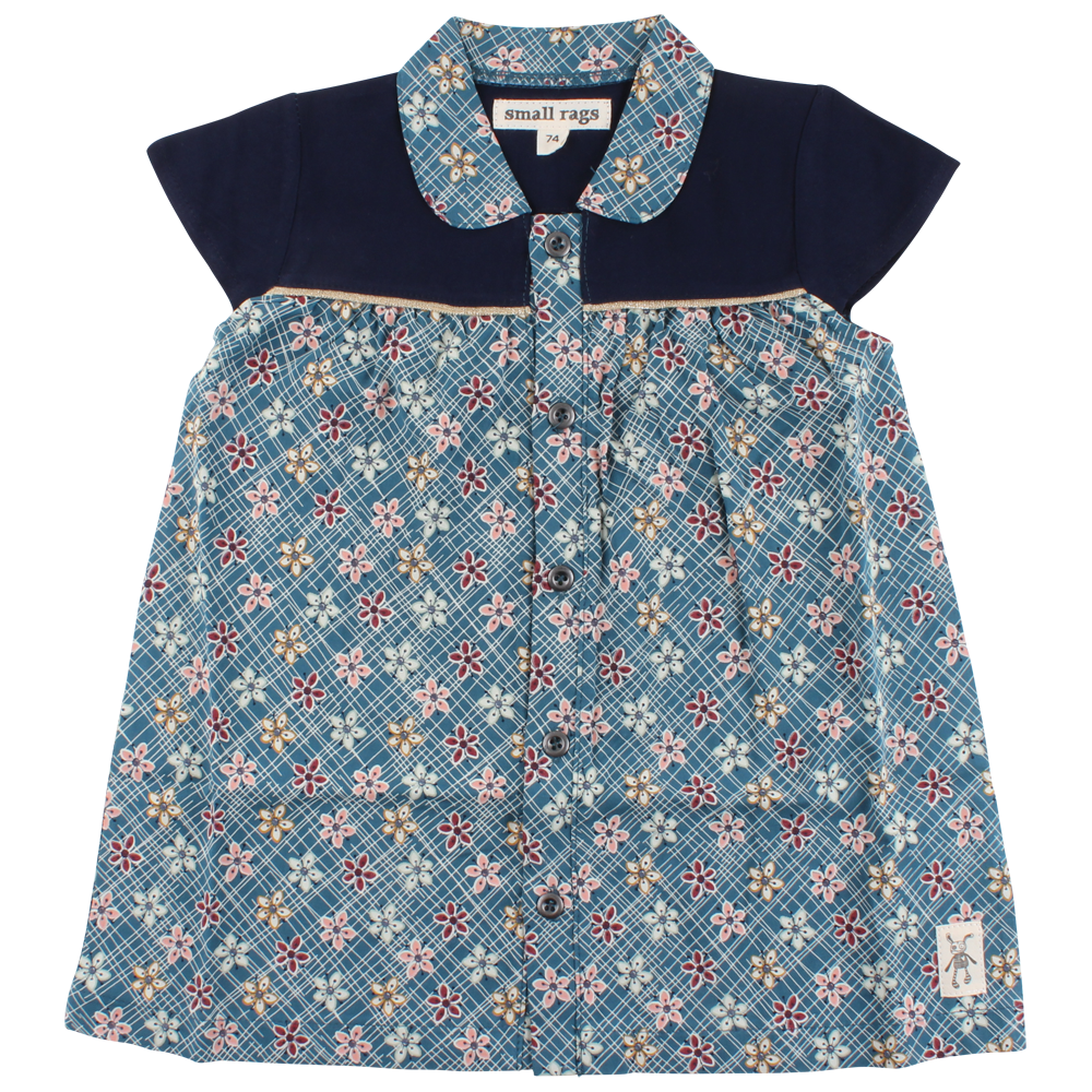Small Rags - Dress SS and All Over Print