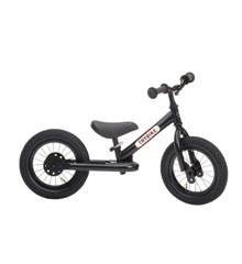 Trybike - Tweewieler Steel Loopfiets, Zwart Zwart
