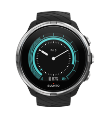 Suunto - 9 Multisport GPS Watch Black