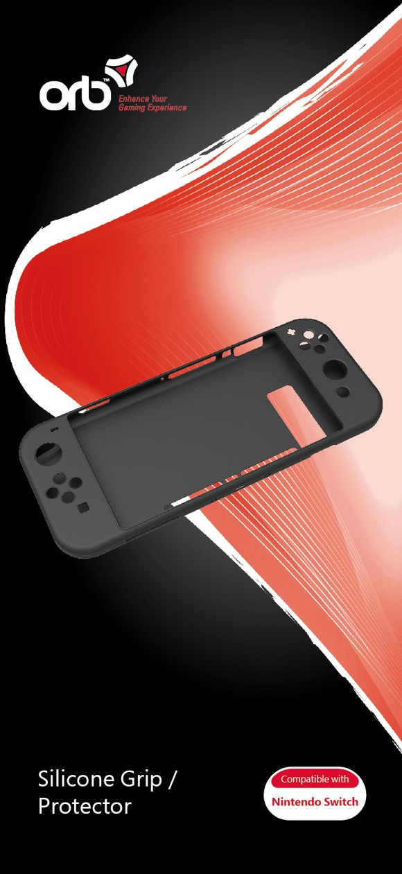 Nintendo Switch - Silicone Grip / Protector (ORB)