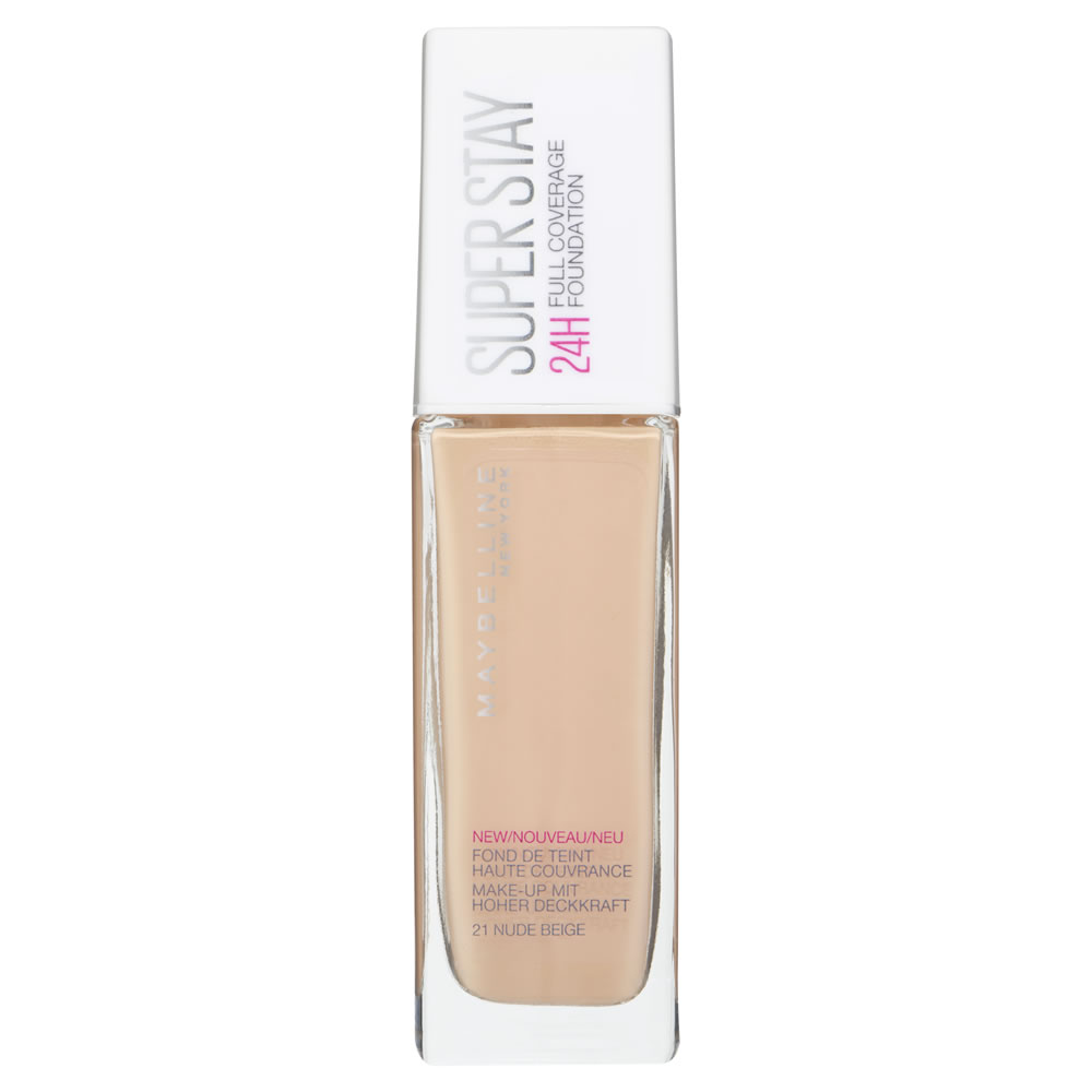Maybelline - Superstay 24H Foundation - Nude