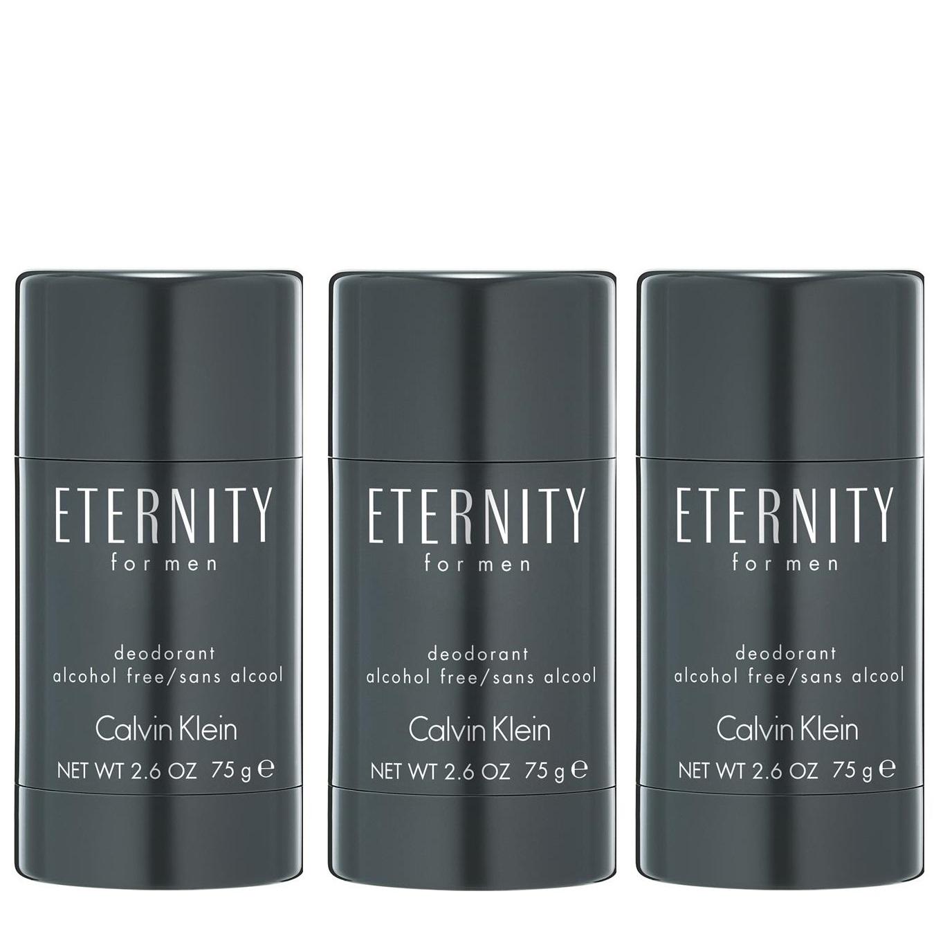 Calvin Klein - 3x Eternity Deodorant Stick for Men