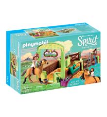 Playmobil - Hesteboks - Lucky & Spirit (9478)