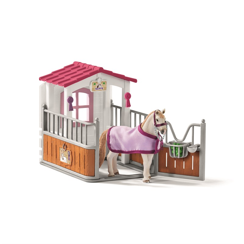 Schleich - Horse stall with Lusitano Mare (42368)