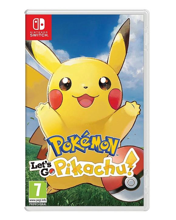Pokemon: Let's Go, Pikachu! (UK, SE, DK, FI)