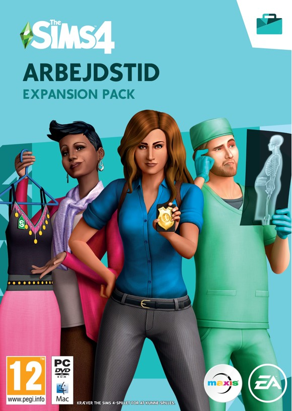 The Sims 4 - Arbejdstid (Code via email)