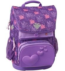 LEGO - Maxi School Bag Set (2 pcs) - Friends - Hearts (20110-2005)