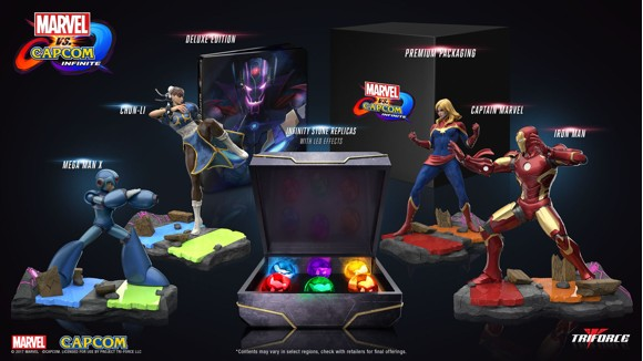 Marvel vs. Capcom: Infinite Collector's Edition (No Game Included)
