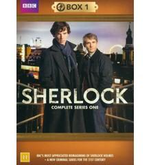Sherlock: Box 1 (Series One) (2-disc) - DVD