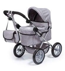 Bayer - Dolls Pram Trendy - Grey (13010AA)