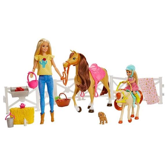 Barbie - Dolls, Horses & Accessories (FXH15)