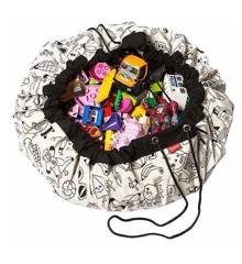 Play&Go -Legetæppe og Opbevarings taske  - OMY Color