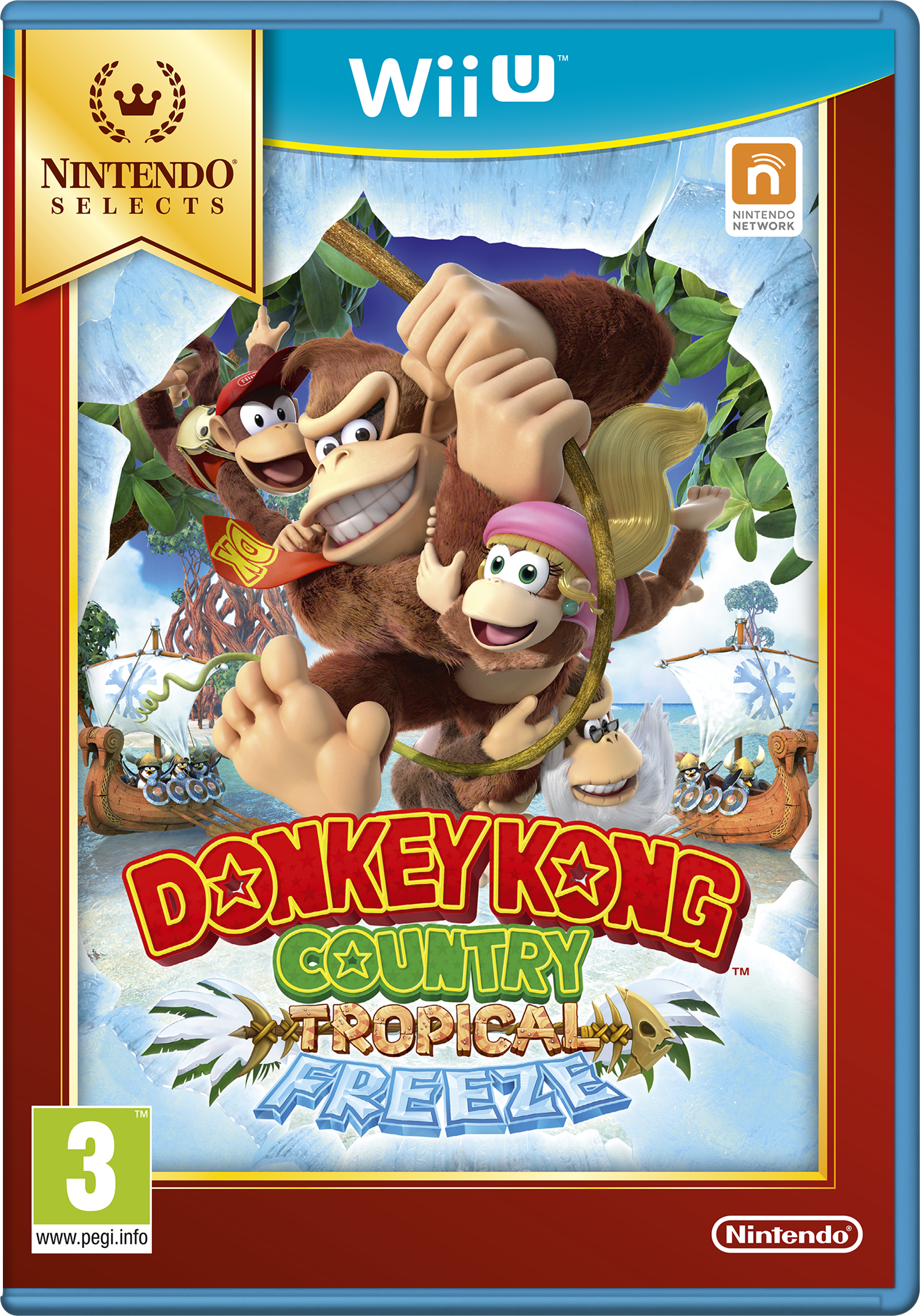 Donkey Kong Country Returns - Tropical Freeze (Selects)