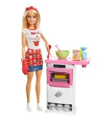 Barbie - Bakery Chef Doll and Playset (FHP57)
