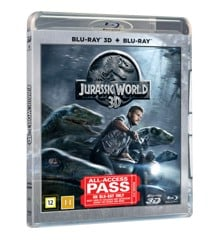 JURASSIC WORLD 3D+2D - Blu ray