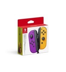 Nintendo Switch Joy-Con Controller Pair - Neon Purple (L) & Neon Orange (R)