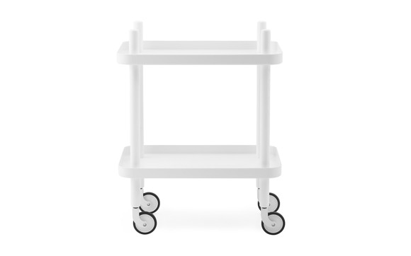 Normann Copenhagen - Block Table - White/White (602195)