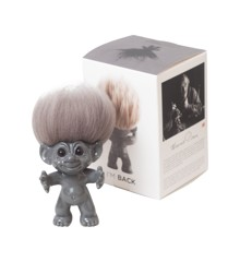 Good Luck Troll - Gjøl Trold 12 cm. - Grey (92861)