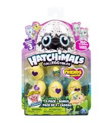 Hatchimals - Colleggtibles - 4 pack + bonus S3 (6041341)