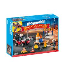Playmobil - Julekalender - Brandmand (9486)