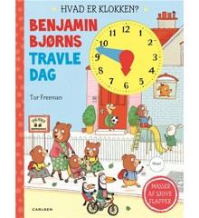 Børnebog - Benjamin Bjørns Travle Dag