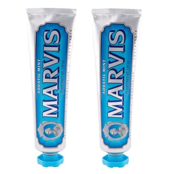 MARVIS - Toothpaste  Aquatic Mint 2x75 ml