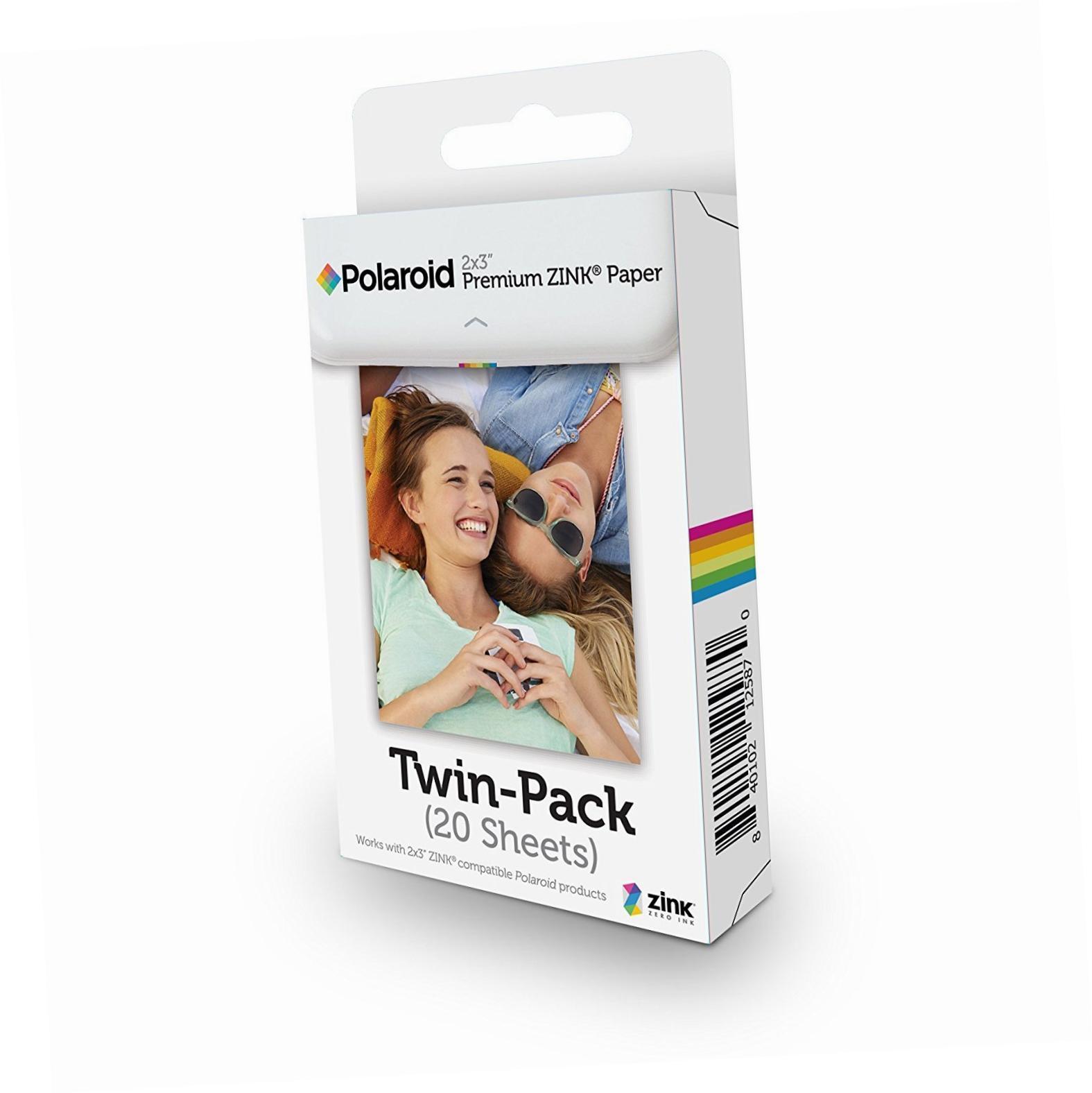 Polaroid - Instant Zink Papir 20-Pakke