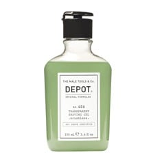 Depot - No. 406 Transparent Shaving Gel Brushless 100 ml