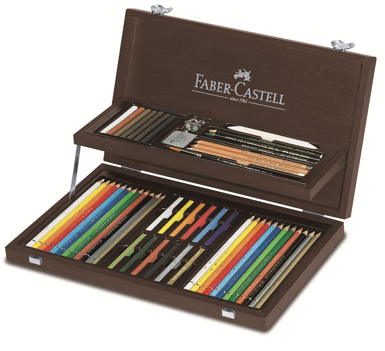 Faber-Castell - Art & Graphic COMPENDIUM wood case (110088)