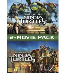 Teenage Mutant Ninja Turtles 1 & 2 - DVD