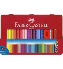 Faber-Castell - Colour Grip Akvarel Farveblyanter - Metalæske med 48 stk (112448)