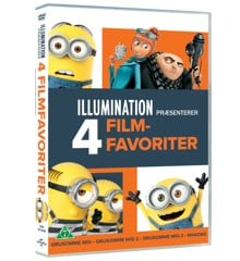 Grusomme Mig 1-3 + Minions Collection - DVD