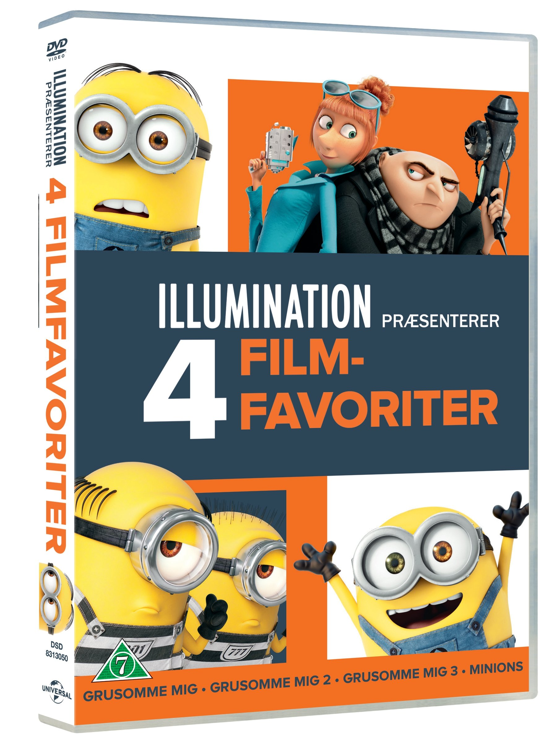 Illumination 4 -Movie Collection - DVD