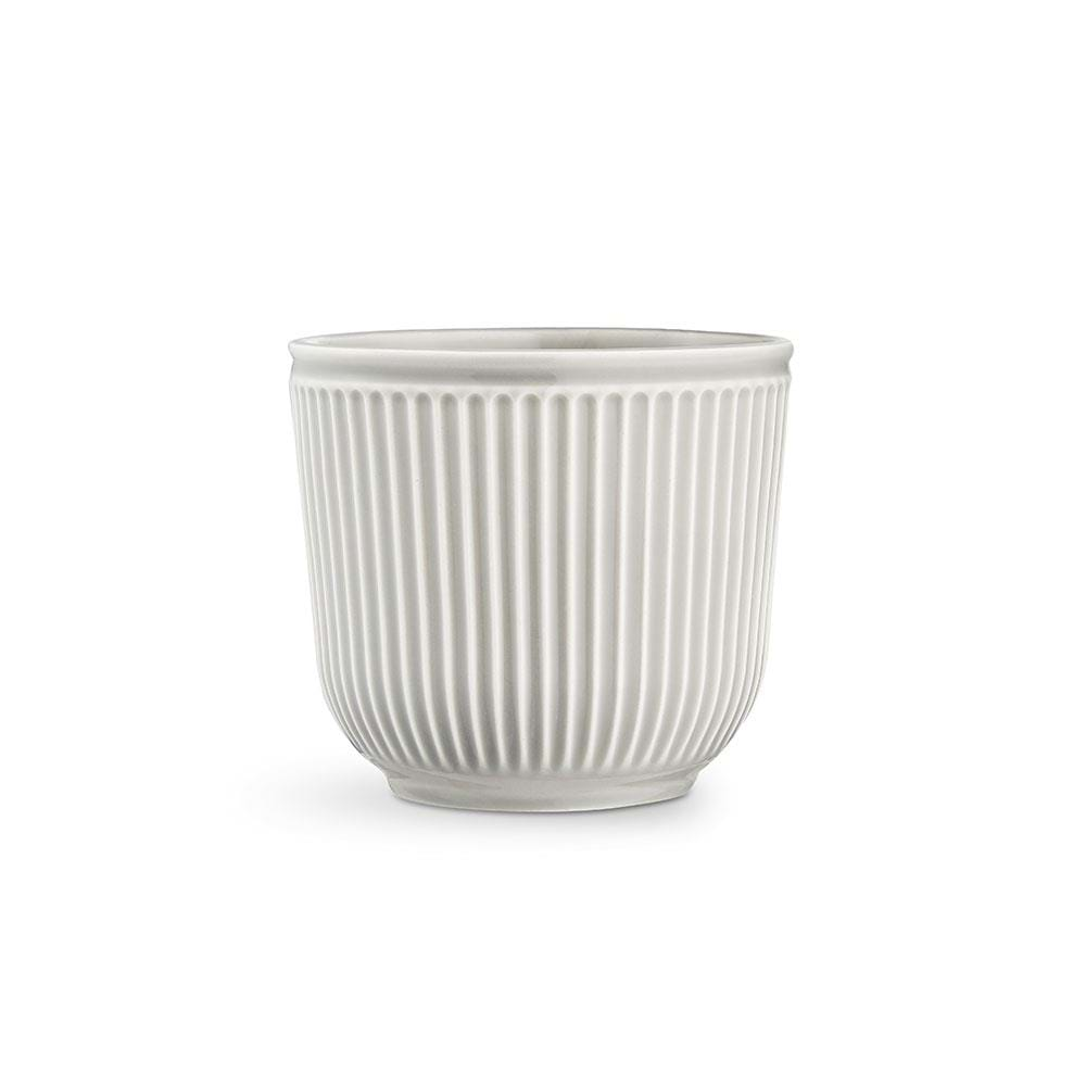 Kähler - Hammershøi Flowerpot Ø 18 cm - Light Grey (692582)