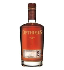 Opthimus - Ron Dominicano 15 års Solera Rom, 70cl
