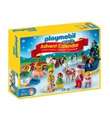 Playmobil - 1-2-3 - Julekalender - Jul i skoven (9009)