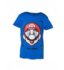 Nintendo - Super Mario Face Boy's T-shirt 86-92