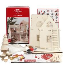 DIY Kit - Materialesæt til Julemandens Hus
