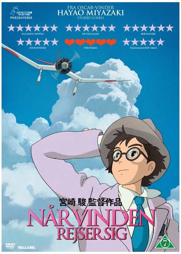 Når vinden rejser sig - DVD