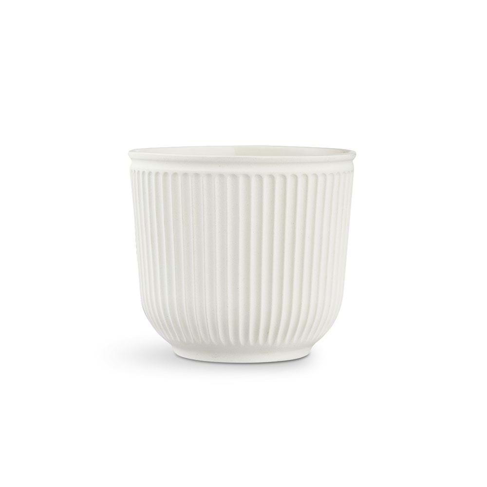 Kähler - Hammershøi Flowerpot Without Glaze Ø 18 cm - White (692587)
