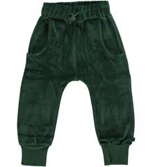 Småfolk - Velvet Pants - Hunter Green
