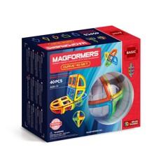 Magformers - Curve 40 sæt (3045)