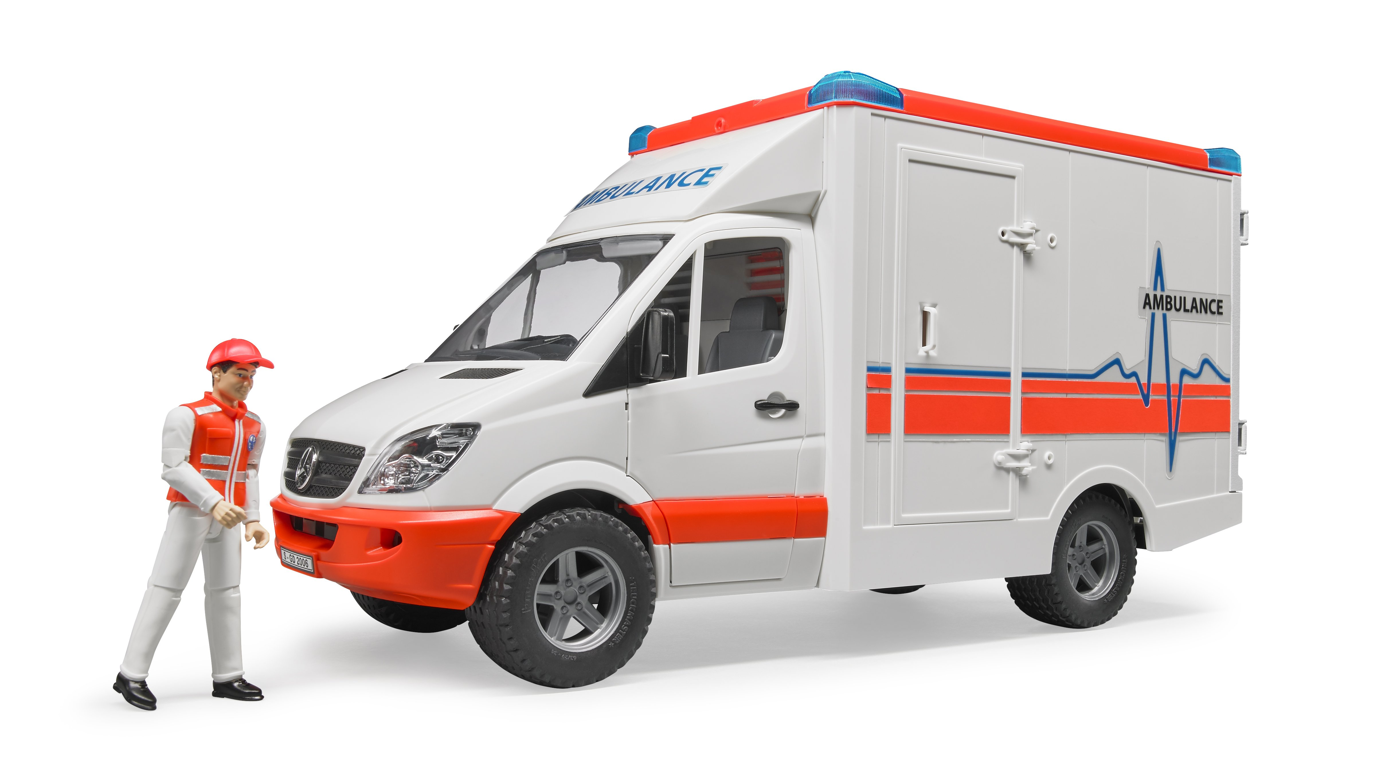Bruder - Mercedes Benz Sprinter 2536 Ambulance - (BR2536)
