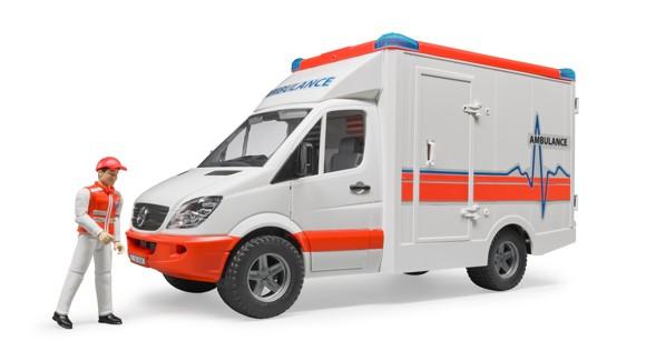 Bruder - Mercedes Benz Sprinter 2536 Ambulance - (BR2536)
