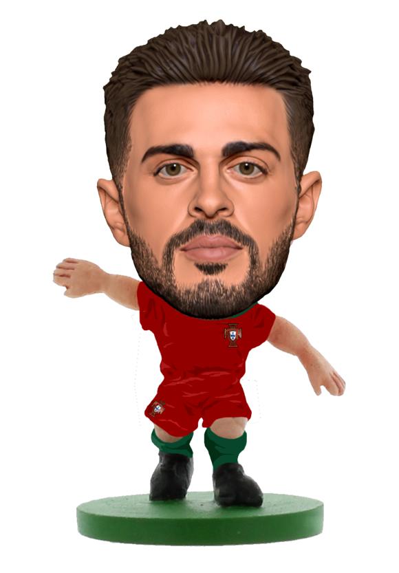 Soccerstarz - Portugal Bernardo Silva - Home Kit