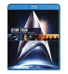 Star Trek: Motion Picture Trilogy (3 disc)(Blu-Ray)