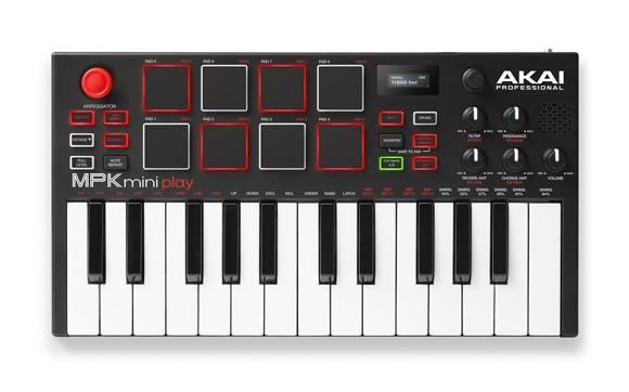 Akai - MPK Mini Play - Standalone Mini Keyboard & USB MIDI Controller
