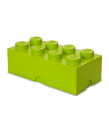 Room Copenhagen - LEGO Opbevaringskasse Brick 8 - Gul/grøn